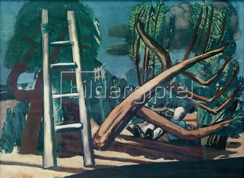 Max Beckmann: Große Gewitterlandschaft, 1932