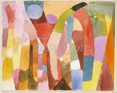 Paul Klee: Bewegung der gewölbten Kammern