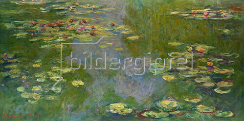 Claude Monet: Seerosenteich 1919