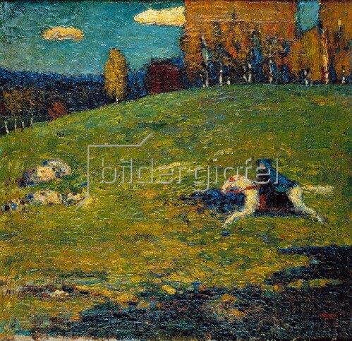 Wassily Kandinsky: Der blaue Reiter