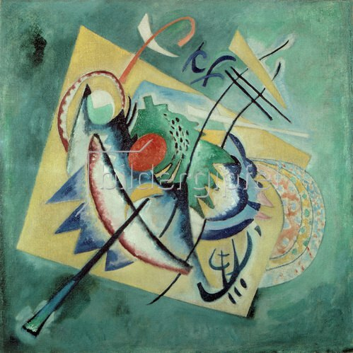 Wassily Kandinsky: Rotes Oval, 1920.