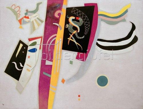 Wassily Kandinsky: Violett-Orange, 1905