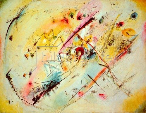 Wassily Kandinsky: Helles Bild, 1913