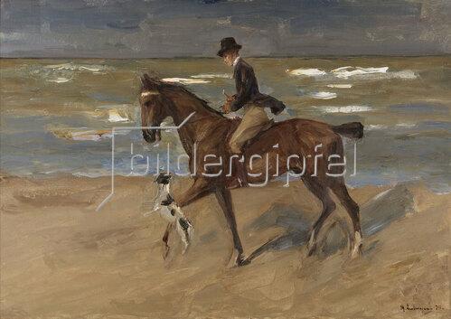 Max Liebermann: Reiter am Strand