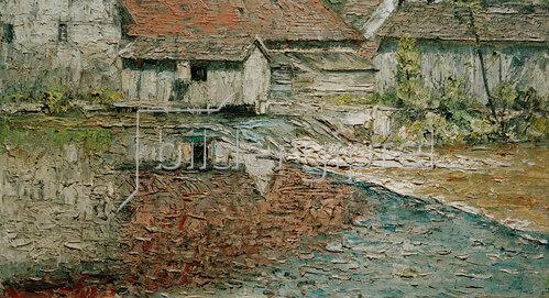 Christian Rohlfs: Mühle an der Ilm