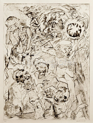 Max Beckmann: Die Granate, 1914