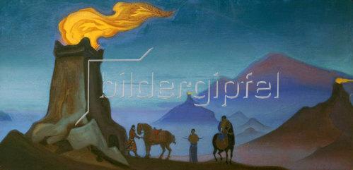 Nikolai Konstantinow Roerich: Flamme des Sieges