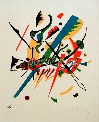Wassily Kandinsky: Kleine Welten I, 1922.