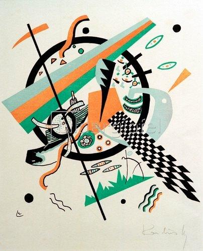 Wassily Kandinsky: Kleine Welten IV, 1922.