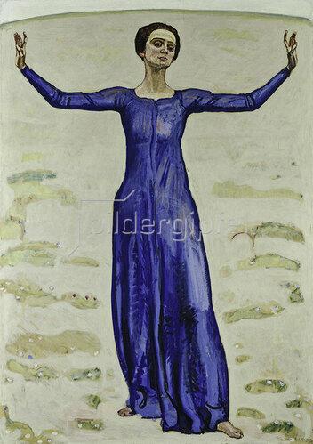 Ferdinand Hodler: Song in the Distance
