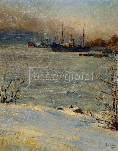 Prinz von Schweden Eugen: Dampfer vor Beckholmen, Stockholm
