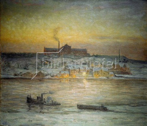 Prinz von Schweden Eugen: Ein früher Wintermorgen