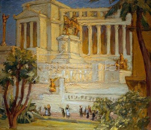 Prinz von Schweden Eugen: Nationalmonument in Rom