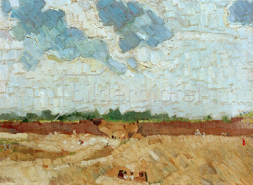Max Beckmann: Sandige Vorstadt, 1905