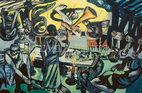 Max Beckmann: Tod, 1938
