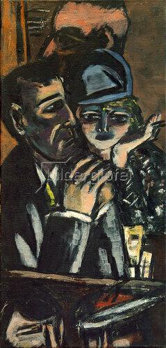 Max Beckmann: Bar, braun