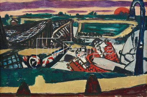 Max Beckmann: Schiphol, 1945