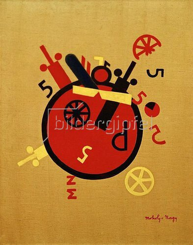 László Moholy-Nagy: Großes Rad (Große Gefühlsmaschine), 1920