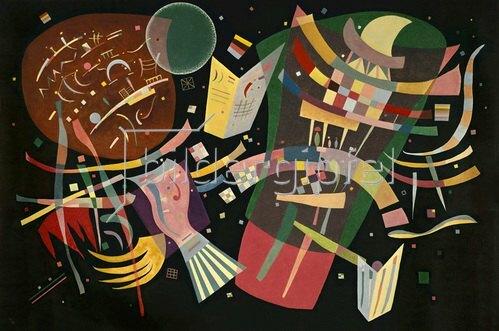 Wassily Kandinsky: Komposition X, 1939.
