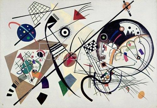 Wassily Kandinsky: Durchgehender Strich, 1923.