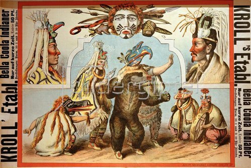 Krolls Etablissement. Bella-Coola– Indianer
