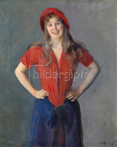 Christian Krohg: Portrait der Malerin Oda Krohg, 1888
