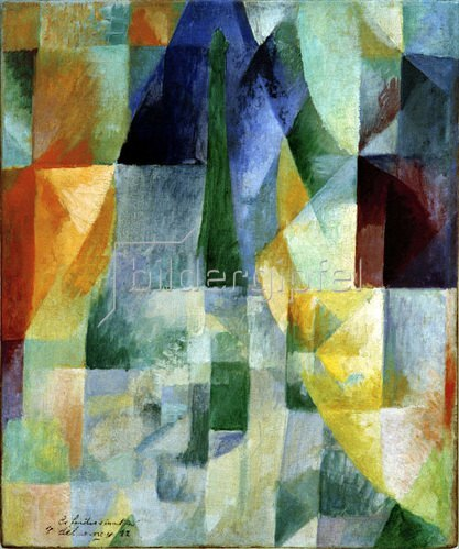 Robert Delaunay: Window Picture, 1912