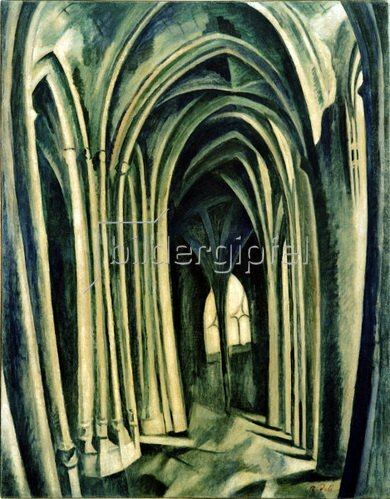 Robert Delaunay: Saint-Séverin No. 3