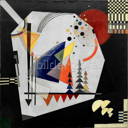 Wassily Kandinsky: Drei Klänge, 1926