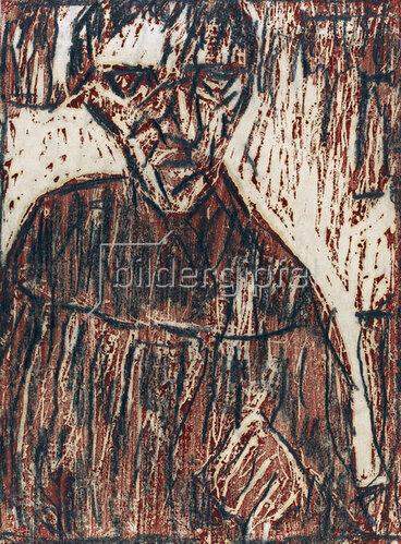 Christian Rohlfs: Old Man