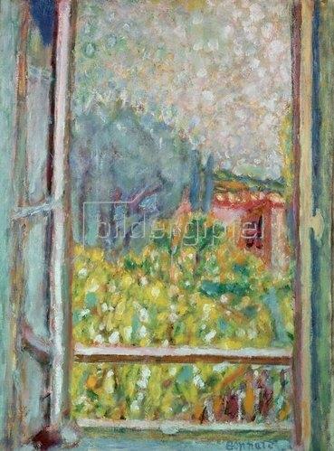 Pierre Bonnard: Das kleine offene Fenster