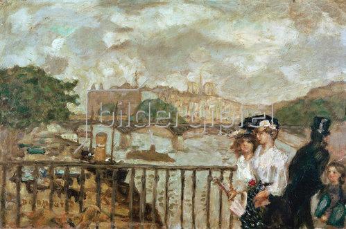 Pierre Bonnard: Paris, le Pont des Arts