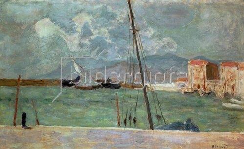 Pierre Bonnard: Der Hafen von Cannes