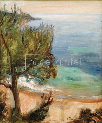 Edvard Munch: Landschaft bei Nizza