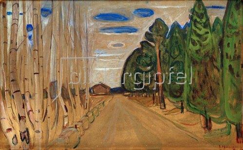 Edvard Munch: Allee