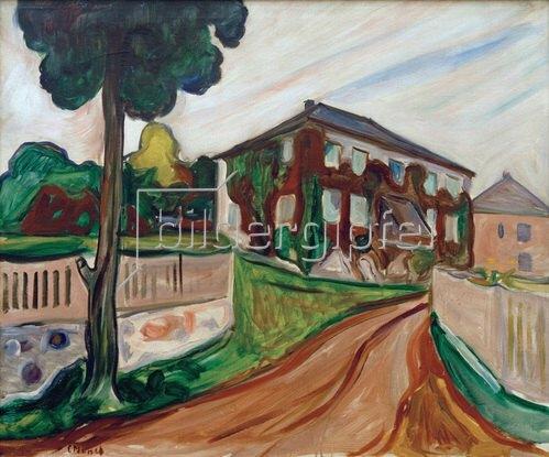 Edvard Munch: Roter Wilder Wein. Um 1898