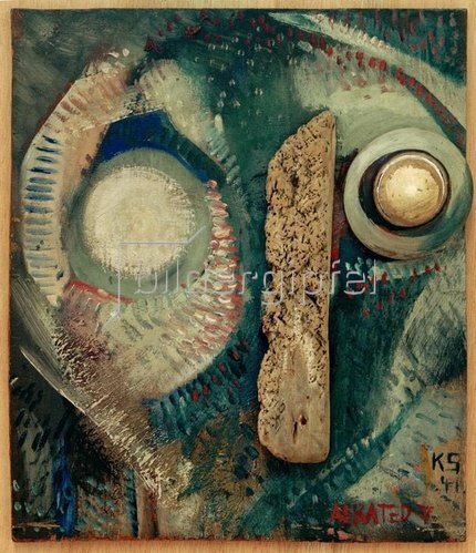 Kurt Schwitters: Aerated V, 1941.
