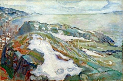 Edvard Munch: Winterlandschaft