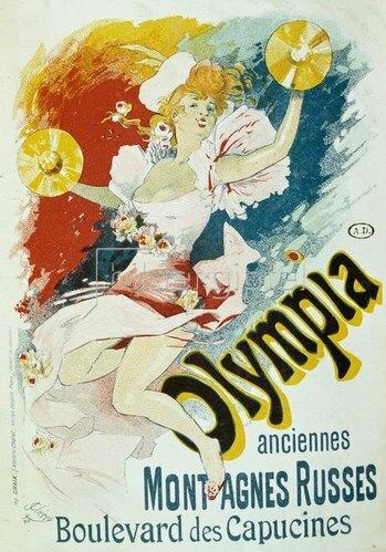 Jules Cheret: Taverne Olympia / Plakat, Chéret, 1892