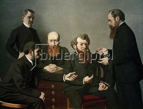 Felix Vallotton: Die fünf Maler, 1902/03