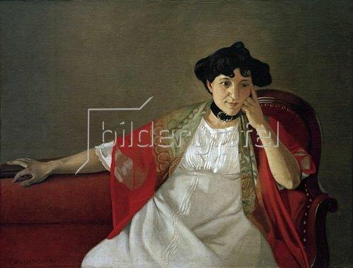 Felix Vallotton: Gabrielle Vallotton, 1905