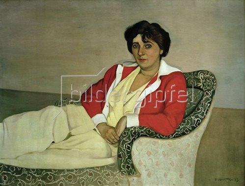 Felix Vallotton: Die rote Jacke, 1911