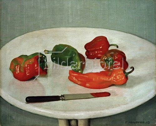 Felix Vallotton: Rote Pfefferfrüchte, 1915
