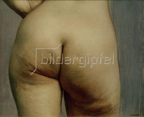 Felix Vallotton: Etude de fesses, v. 1884.