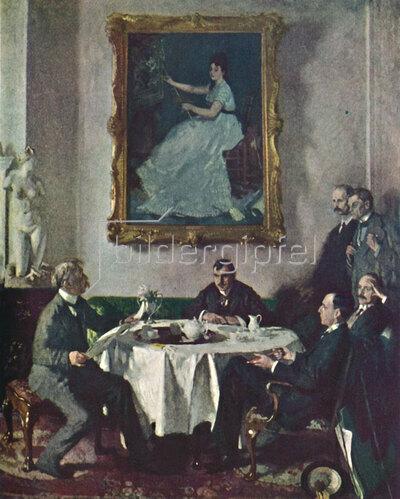 Sir William Orpen: Homage to Manet, 1909