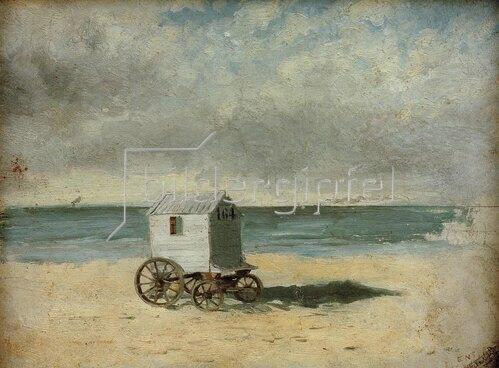 James Ensor: Die Bademaschine, 1876