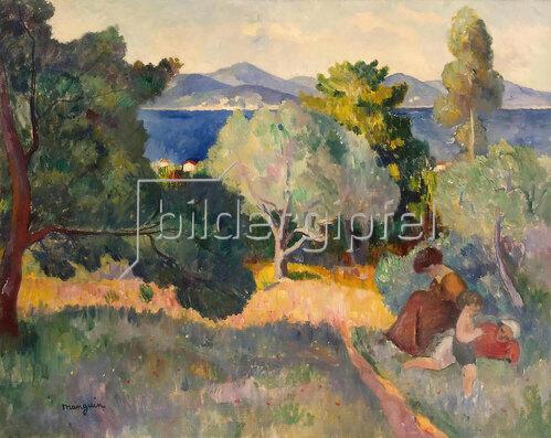 Henri Manguin: Spaziergang in St. Tropez