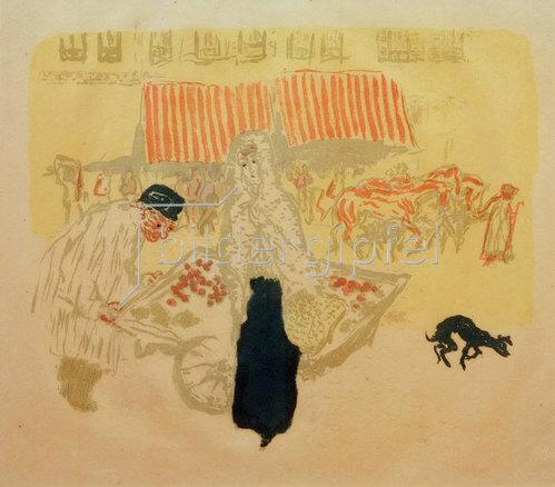 Pierre Bonnard: Gemüsehändler