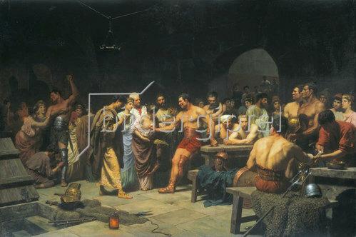 Stepan Wladislawowitsch Bakalowitsch: Die Gladiatoren vor dem Kampf