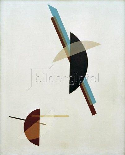 László Moholy-Nagy: Auf weißem Grund, 1923